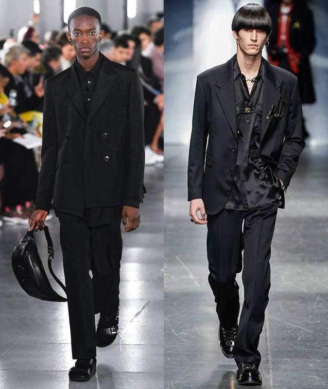 Bộ suit đen