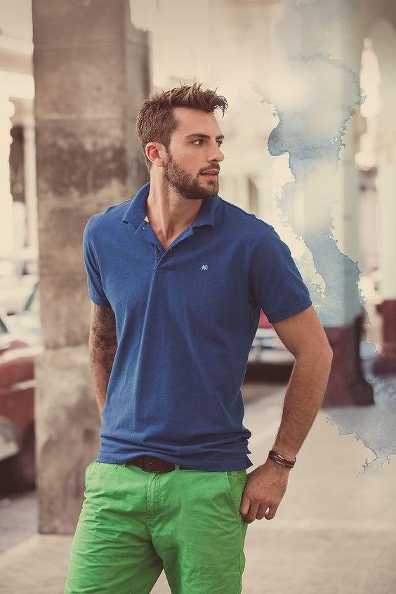 áo thun polo rất dễ mặc