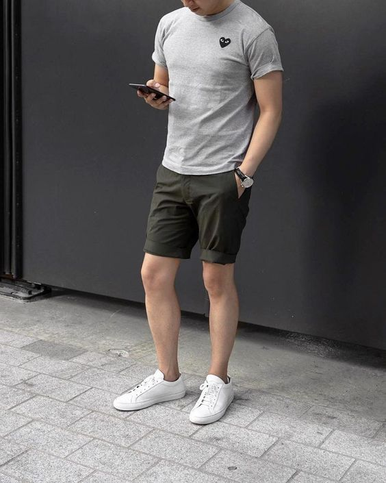 style diện áo thun nam body