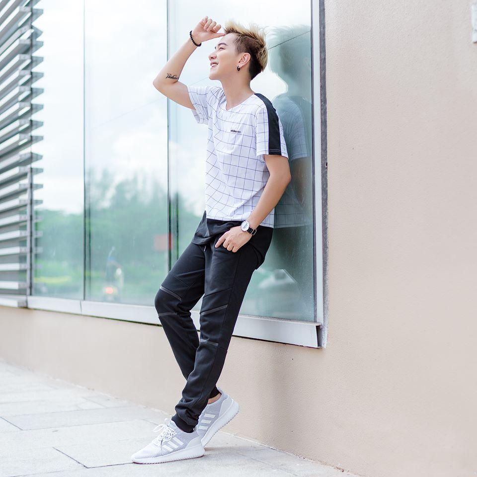 bộ sưu tập thời trang Adidas của Lou Hoàng