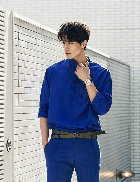 Màu xanh navy chính là màu sắc đậm chất quý ông