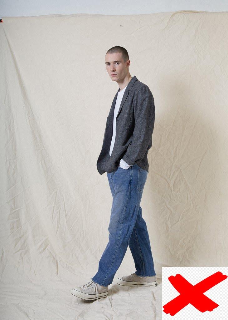 Áo thun và quần jeans xanh
