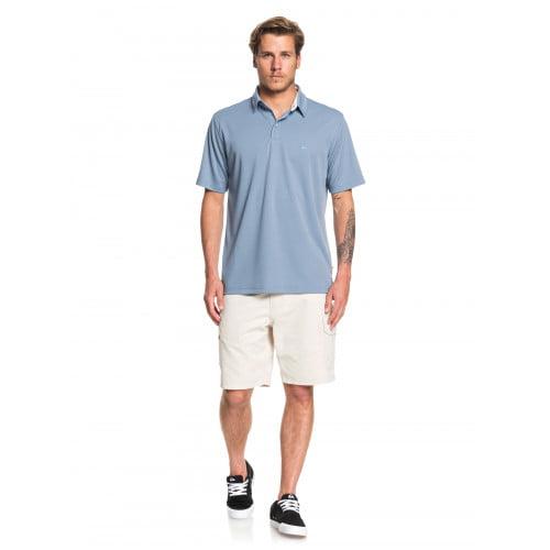 Phối áo polo cùng với quần short nam