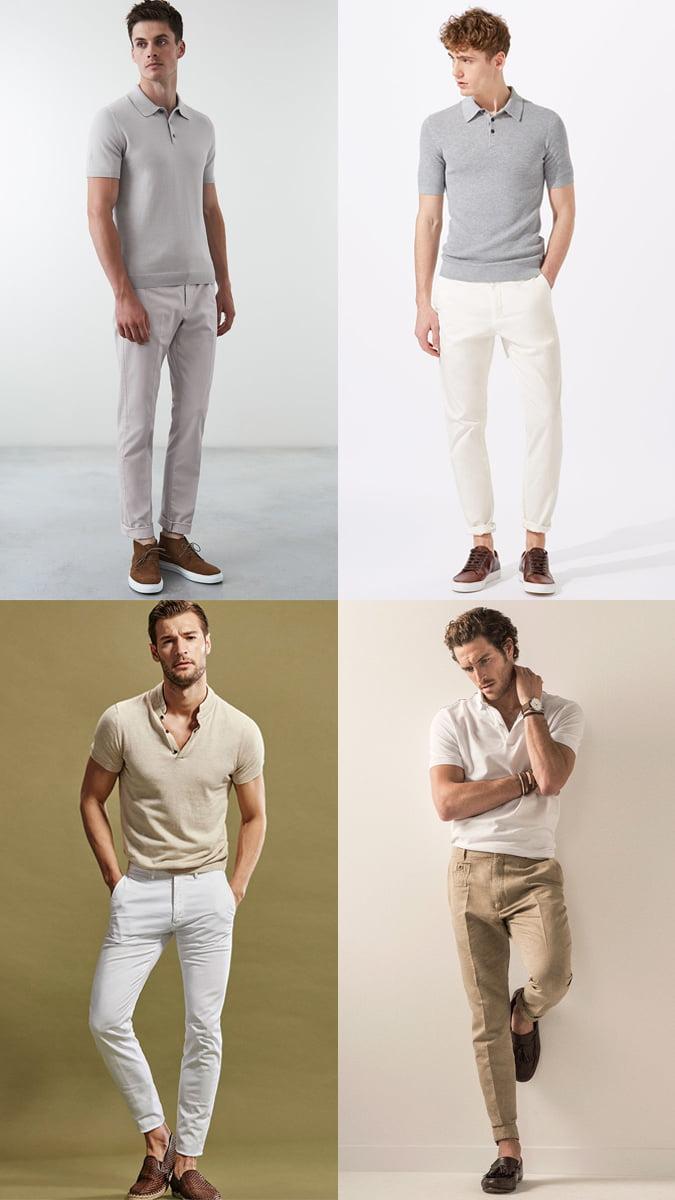 Phong cách lịch lãm với quần jean/kaki