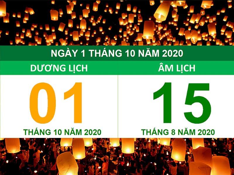 Trung thu 2020 ngày bao nhiêu?