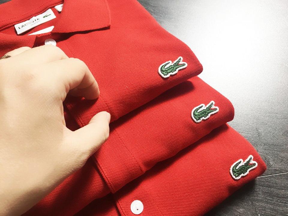 Áo Lacoste đỏ