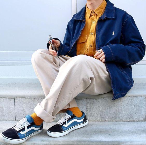 Chân to mặc quần gì đẹp? Gợi ý 10 cách mix đồ cho nam Chan-to-nen-mac-quan-gi9