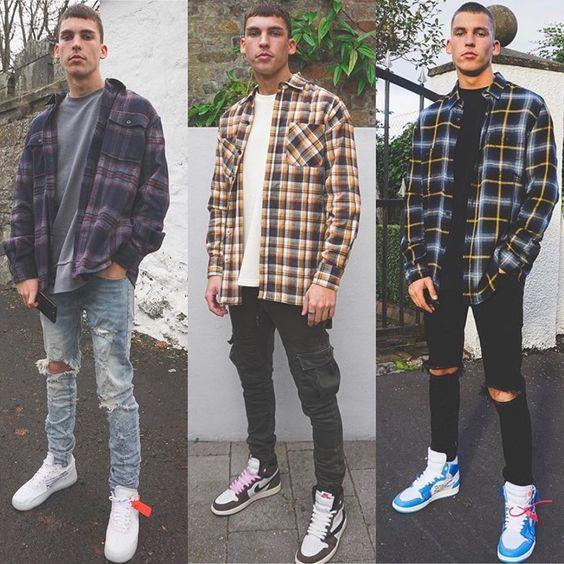 Flannel là gì? Cách phối đồ theo phong cách flannel Flannel-la-gi1