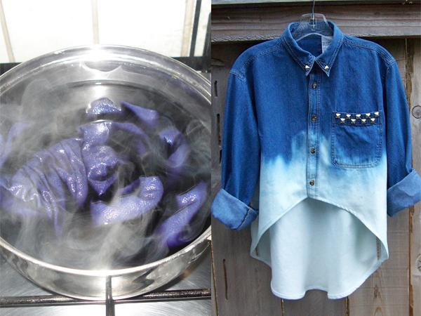 Cách nhuộm quần áo bằng viết