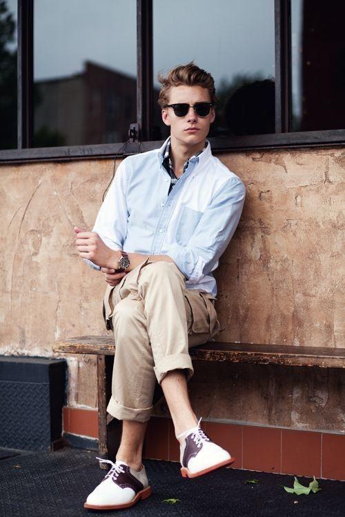 phong cách thời trang nam trẻ trung