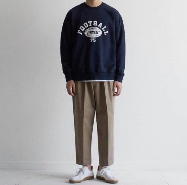 Phối đồ với áo sweater nam