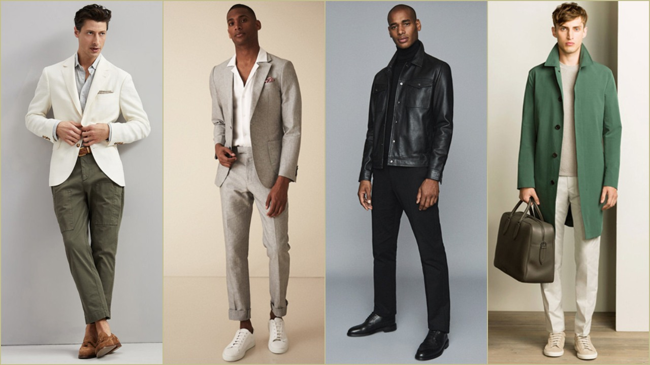 Mix đồ cùng giày nâu và các màu trung tính.