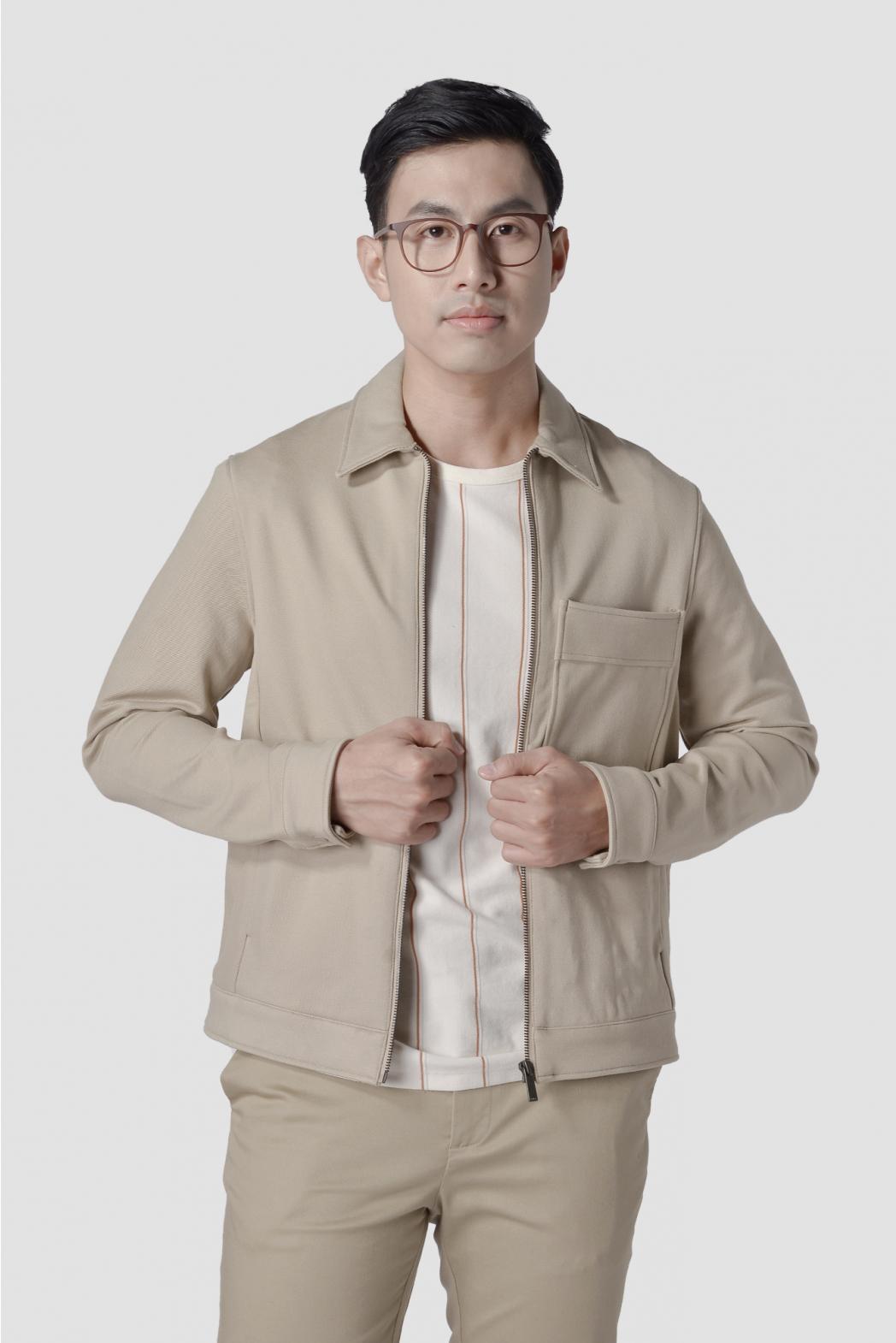 áo khoác thời trang nam routine