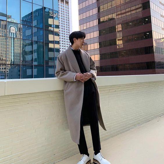Phối đồ cùng áo trend coat